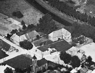 Eyll-Heekeren Manor, aerial photograph from the south-west, 1962.